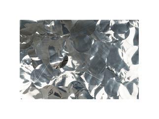 Showtec Show Confetti Metal, rund, silber