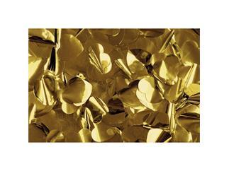 Showtec Show Confetti Metal, Herzen, gold