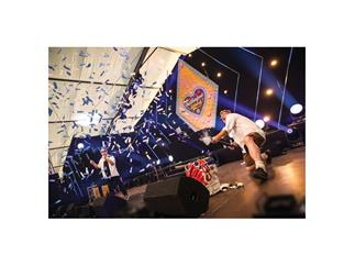 Showtec electric confetti cannon Pro, BW- Blau-Weiss 50cm, Volksfest-Version
