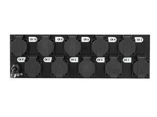 EUROLITE Board 10ST mit 10x Schutzkontakt Steckdosen