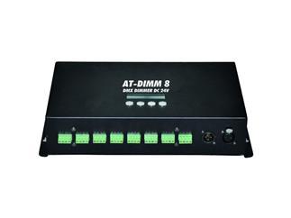 EUROLITE AT-DIMM 8 DMX Dimmer DC 24V/6A, 24Kanal PWM Dimmer