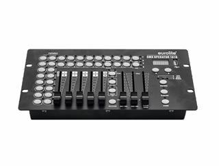 Eurolite DMX Operator 1610 Controller - DMX-Lichtsteuerpult für 16 Lichteffektgeräte