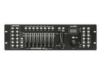 Eurolite DMX Scan Control 192 MK2 Controller - DMX-Lichtsteuerpult für 12 Lichteffektgeräte
