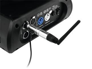 Eurolite Quick DMX Funksender + 5x Funkempfänger 2,4 GHz Set