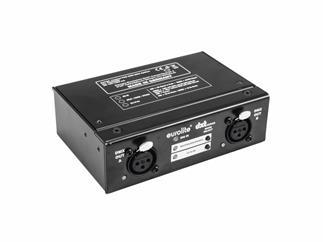 EUROLITE DXT-SP 1in/2out PRO DMX RDM Splitter