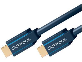 Clicktronic Casual Standard HDMI™Kabel mit Ethernet, 20,0m Verbindungskabel