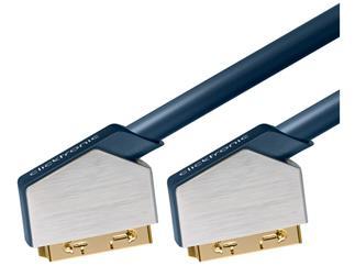 Clicktronic Advanced SCART Kabel (SCART-St./SCART-St.) (21-polig), 3,0m