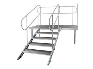 Showtec ProStage 21 Stage element 2 x 1 m, without legs, TUV Approved