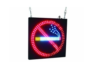 EUROLITE LED NO SMOKING Schild mit strobe