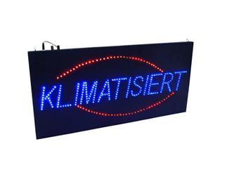 Eurolite LED KLIMATISIERT Schild strobe und dimmbar