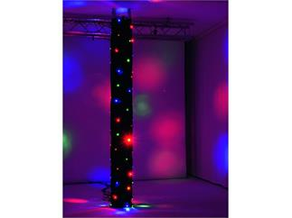 Eurolite CRT-100 DMX-gesteuerter LED-Truss-Vorhang 3 x 1,2m