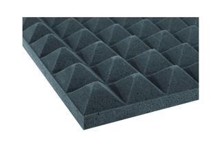 Akustikschaumstoff Pyramide 50mm, 50x50cm