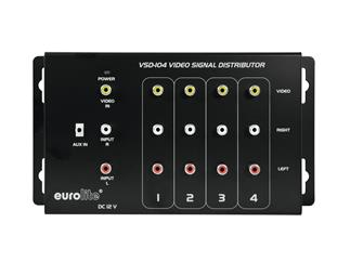 EUROLITE VSD-104 Videoverteiler 1 In 4 Out