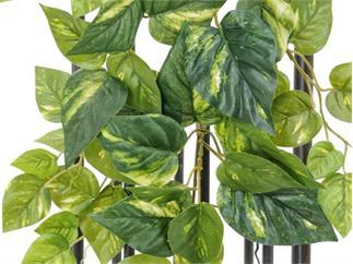 Europalms Pothosbusch, 60cm, Kunstpflanze, 70 Blätter