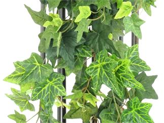 Europalms, Efeubuschranke MAXI, 90cm, Kunstpflanze, 249 Blätter