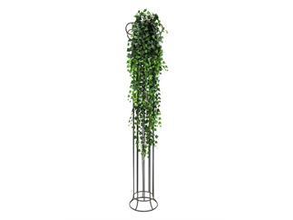 Europalms Deluxe Efeubuschranke, grün, 160cm, Kunstpflanze, 1438 Blätter