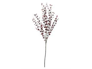 EUROPALMS Eucalyptuszweig, rot, 110cm, Kunstpflanze