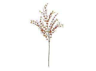 EUROPALMS Eucalyptuszweig, orange, 110cm, Kunstpflanze