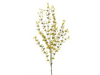 EUROPALMS Eucalyptuszweig, gelb-grün, 110cm, Kunstpflanze