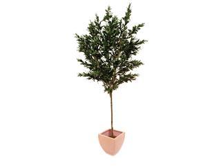 Europalms Olivenbaum mit Früchten, 250cm - Kunstpflanze