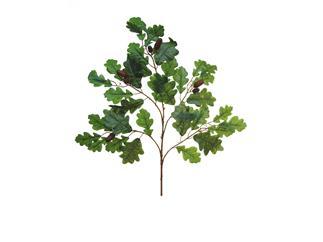 Europalms Eichenblätter mit Eicheln 6x - Kunstpflanze