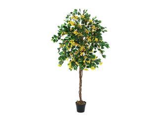 Europalms Bougainvillea, gelb, 180cm - Kunstpflanze