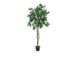 Europalms Bougainvillea, weiß, 180cm - Kunstpflanze
