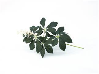 Europalms Kastanienzweig mit Blüte, 60cm - Kunstpflanze