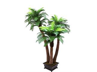 EUROPALMS Farnpalme, 240cm Kunstpflanze