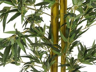Bambus Multistamm 180cm, Kunstpflanze