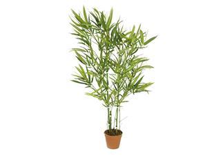 Europalms Bambus Grünstamm, 115cm - Kunstpflanze