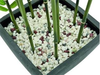 Zierbambus in Dekoschale, 120cm, Kunstpflanze