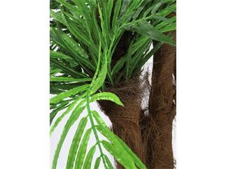 Europalms Areca Palme mit Palmfaserstamm, 170cm - Kunstpflanze
