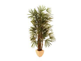 Europalms Steckenpalme 1635 Blätter, 210cm Kunstpflanze,