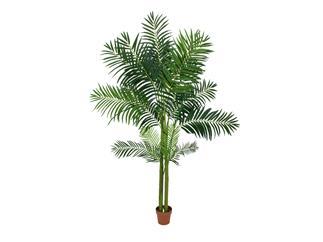 Europalms Areca Palme, 4-stämmig, 240cm - Kunstpflanze