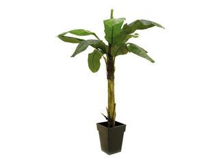 Bananenbaum 9 Blätter 220cm, Kunstpflanze