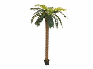 EUROPALMS Phönix Palme deluxe, Kunstpflanze, 250cm