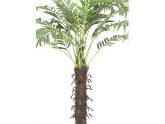 Europalms Kokospalme mit 18 Wedeln, 160cm, Kunstpflanze
