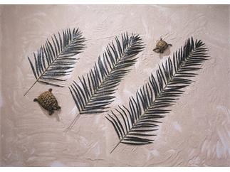 EUROPALMS Kokos-Palmwedel, künstlich, 90cm 12x