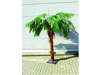 Europalms Phönixpalme mit Palmfaserstamm  4,90m GIGANTISCH!!, Kunstpflanze