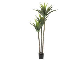 Europalms Yucca, 3-stämmig, 125cm - Kunstpflanze