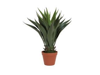Europalms Yuccabusch, dunkelgrün, 50cm - Kunstpflanze