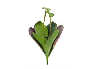 EUROPALMS Seerose (EVA), geschlossen, grün, 45cm, Kunstpflanze
