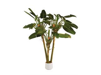 EUROPALMS Strelizienpalme, 250cm Kunstpflanze