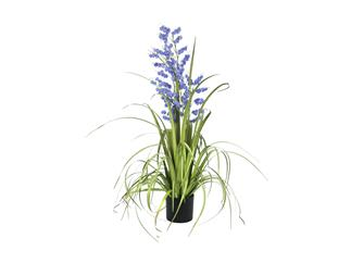 Europalms Glockenblume, lila, 105cm - Kunstpflanze