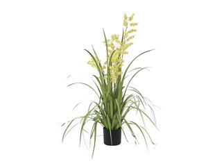 Europalms Glockenblume, gelb, 105cm - Kunstpflanze