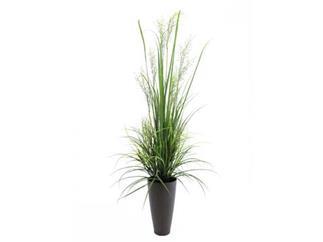 Europalms Schilfgras April, 175cm - Kunstpflanze