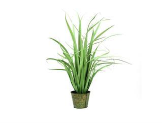 EUROPALMS Yuccabusch, schmale Blätter, 80cm Kunstpflanze