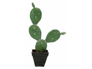 Europalms Feigenkaktus, 35cm - Kunstpflanze