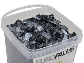 Europalms Deko-Holz, beluga, 5,5l Eimer